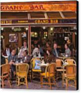 Grand Bar Canvas Print by Guido Borelli