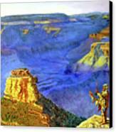 Grand Canyon V Canvas Print by Stan Hamilton