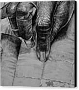 Grandma's Hands Canvas Print by Curtis James
