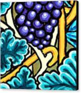 Grapes Canvas Print by Genevieve Esson