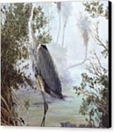 Great Blue Heron Canvas Print by Kevin Brant