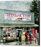 Greenbank Store Canvas Print by Perry Woodfin