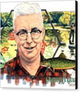 Gurney J. Godrey Canvas Print by John D Benson