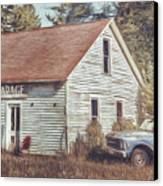 Gus Klenke Garage Canvas Print by Scott Norris
