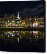 Haarlem Night Canvas Print by Chad Dutson