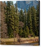 Half Dome Yosemite Canvas Print by Tom Dowd