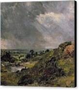 Hampstead Heath Canvas Print by John Constable