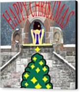 Happy Christmas 31 Canvas Print by Patrick J Murphy