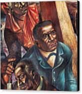 Harriet Tubman, Booker Washington Canvas Print by Photo Researchers