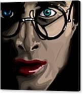 Harry Canvas Print by Lisa Leeman