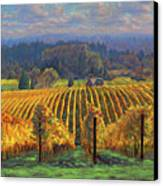 Harvest Gold Canvas Print by Michael Orwick