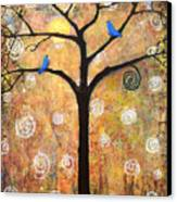 Harvest Moon Canvas Print by Blenda Studio