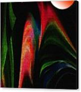Harvest Moon Canvas Print by Terril Heilman