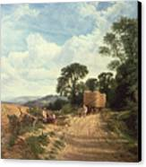 Harvest Time Canvas Print by George Vicat Cole