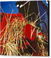 Harvesting Canvas Print by Meirion Matthias
