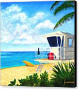 Hawaii North Shore Banzai Pipeline Canvas Print by Jerome Stumphauzer