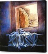 He Is Risen Canvas Print by Susan Jenkins