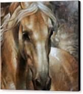 Head Horse 2 Canvas Print by Arthur Braginsky