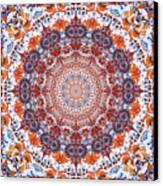 Healing Mandala 2 Canvas Print by Bell And Todd