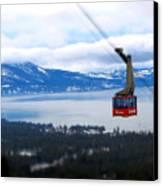 Heavenly Tram South Lake Tahoe Canvas Print by Brad Scott