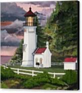 Heceta Head Lighthouse Canvas Print by James Lyman