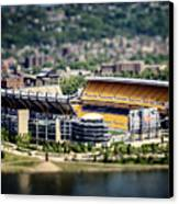 Heinz Field Pittsburgh Steelers Canvas Print by Lisa Russo