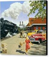 Here At Last Canvas Print by Michael Swanson