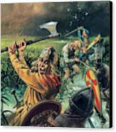 Hereward The Wake Canvas Print by Andrew Howat