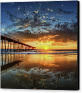 Hermosa Beach Canvas Print by Neil Kremer