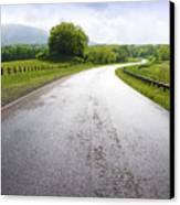 Highland Scenic Highway Route 150 Canvas Print by Thomas R Fletcher