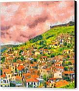 Hios Volissos Canvas Print by George Rossidis