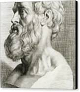 Hippocrates, Greek Physician Canvas Print by Science Source