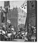 Hogarth: Beer Street Canvas Print by Granger
