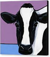 Holstein Canvas Print by Leanne Wilkes