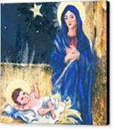 Holy Christmas No. 2 Canvas Print by Elisabeta Hermann