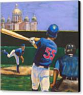 Home Run Canvas Print by Buffalo Bonker