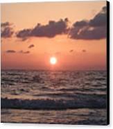 Honey Moon Island Sunset Canvas Print by Bill Cannon