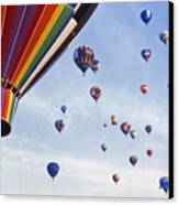 Hot Air Balloon - 12 Canvas Print by Randy Muir