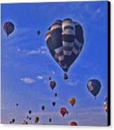 Hot Air Balloon - 14 Canvas Print by Randy Muir