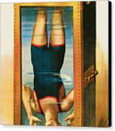 Houdini Water Filled Torture Cell Canvas Print by Unknown