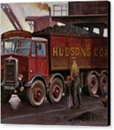 Hudsons Coal. Canvas Print by Mike  Jeffries