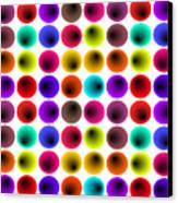 Hypnotized Optical Illusion Canvas Print by Sumit Mehndiratta