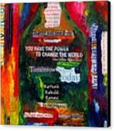I Am Inspired Canvas Print by Patti Schermerhorn