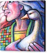 I Will Keep You Safe Always Canvas Print by Angela Treat Lyon