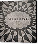 Imagine Canvas Print by Benjamin Matthijs