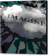 Imagine Canvas Print by Kelley King