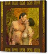 In Love Canvas Print by Kurt Van Wagner