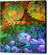 In The Beginning Canvas Print by Mimulux patricia no