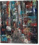 In The City Canvas Print by Frances Marino