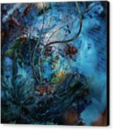 In The Deep Six Canvas Print by Patricia Motley